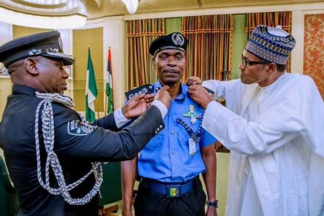 President Muhammadu Buhari has appointed a new Inspector General of Police, Mr. Mohammad Abubakar Adamu-2