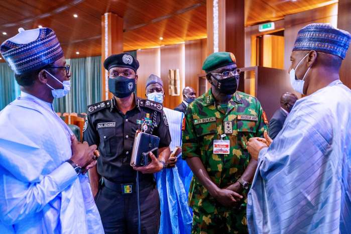 3. President Muhammadu Buhari on Monday gave strong assurances that security will be restored to Borno State, North East and nation at large, following the recent adoption of new strategies and the acquisition of modern military equipment.