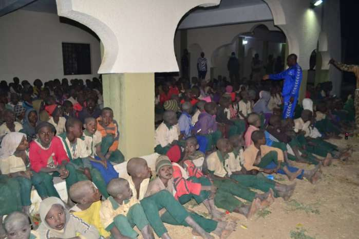 2. The Defence Headquarters has claimed that troops rescued the over 300 students of Government Science Secondary School, Kankara, Katsina, abducted by bandits on December 11.