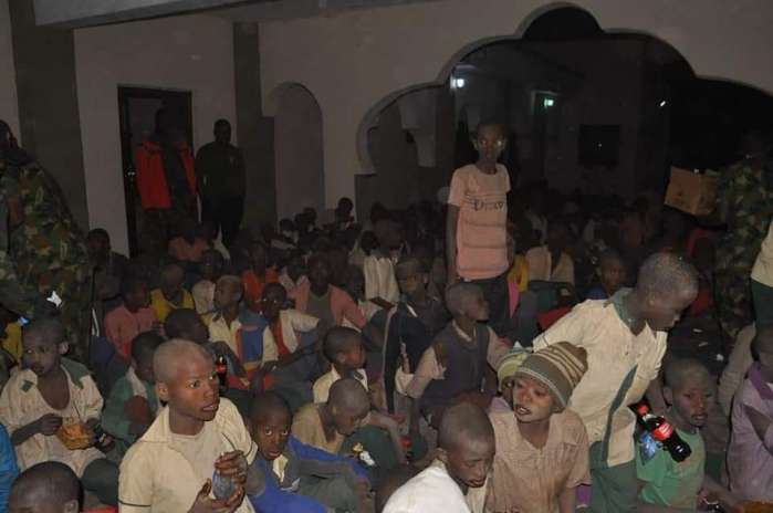5. The Defence Headquarters has claimed that troops rescued the over 300 students of Government Science Secondary School, Kankara, Katsina, abducted by bandits on December 11.