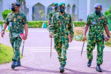 DHQ: Armed forces remain loyal to President Buhari