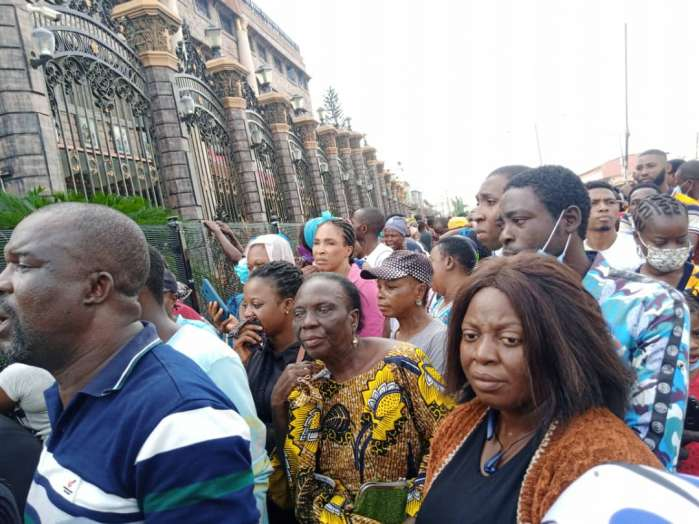 Widows who worshipped at the Synagogue Church of All Nations have decried the sudden death of Prophet TB Joshua, who they referred to as their husband.