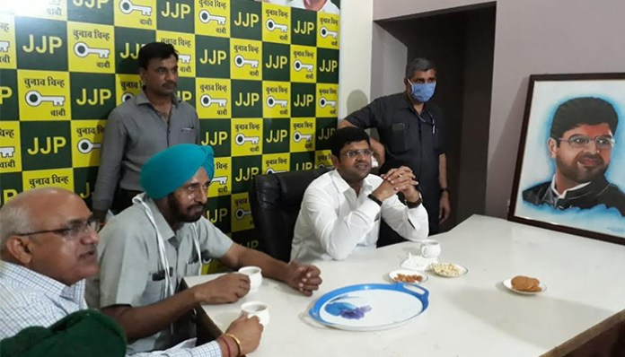 Deputy CM Dushyant Chautala's response to the allegations of scams by the opposition