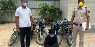 Crime Branch NIT arrested one accused for stealing a vehicle.