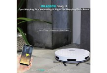 Milagrow presents High Pressure Floor Mopping and Self Cleaning