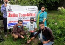 Plantation program organized by Jazba Foundation