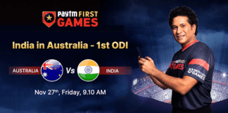 Australia vs India: Paytm First Games Fantasy Prediction: Indian T20 League