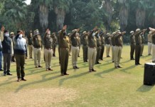 Policemen and officers celebrate Constitution Day, pledge to maintain unity and integrity