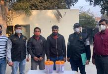 In Rocky Murder case, crime branch DLF got great success, arrested 2 accused of murder gang in Sohna.