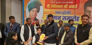 Journalist, intellectual and philanthropist awarded Chaudhary Devi Lal Award