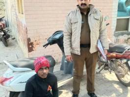The Crime Branch team arrested the accused, including the stolen scooty, from the number three area of Barkhal.