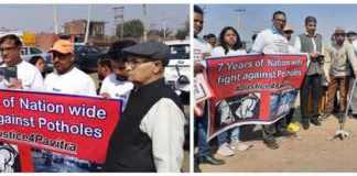 Manoj Wadhwa has been fighting for the responsibility of fixing responsibility for road pits for 7 years!