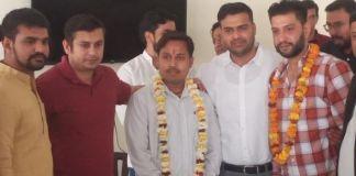 Naveen Saini appointed as President of Jawahar Mandal BJYM by Bharatiya Janata Yuva Morcha