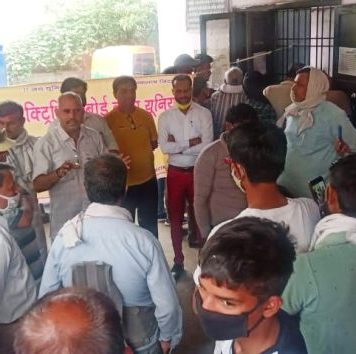 Enormous rage among employees against the dictatorship of SDO Karmaveer Yadav