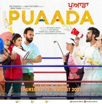 Amy Virk and Sonam Bajwa are back with their film Puwada!! It will be released in cinemas across the world on August 12.