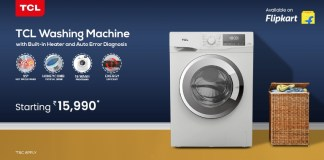 TCL launches its new range of Washing Machines with Digital Display