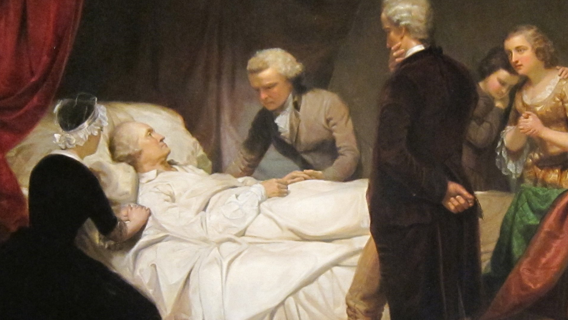 Image result for george washington sick