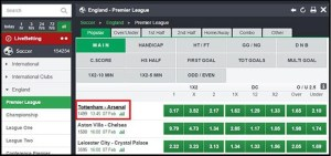 Bet9ja Codes and Odds