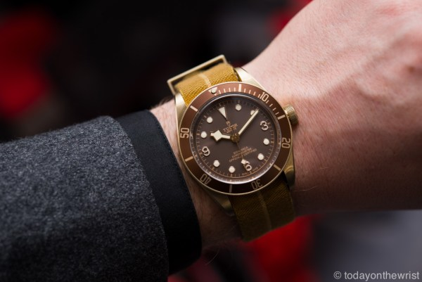 Baselworld 2016 - Tudor Heritage Black Bay Bronze 79250BM
