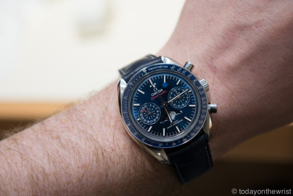 Baselworld 2016: Omega Speedmaster Chronograph Moonphase