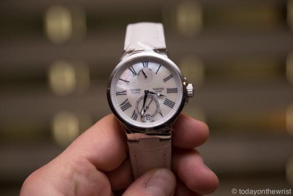 Ulysse Nardin Marine Chronometer Manufacture Ladies