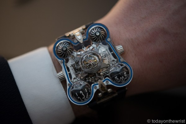 MB&F HM6-SV Space Pirate Platinum