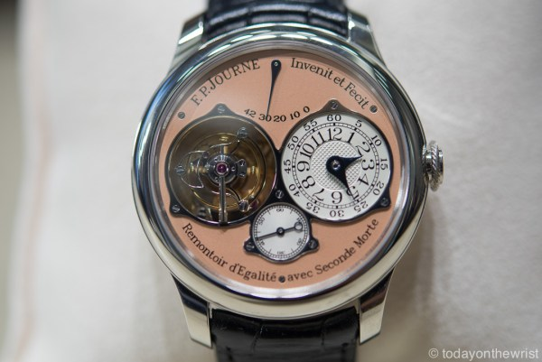 F.P.Journe Tourbillon Souverain