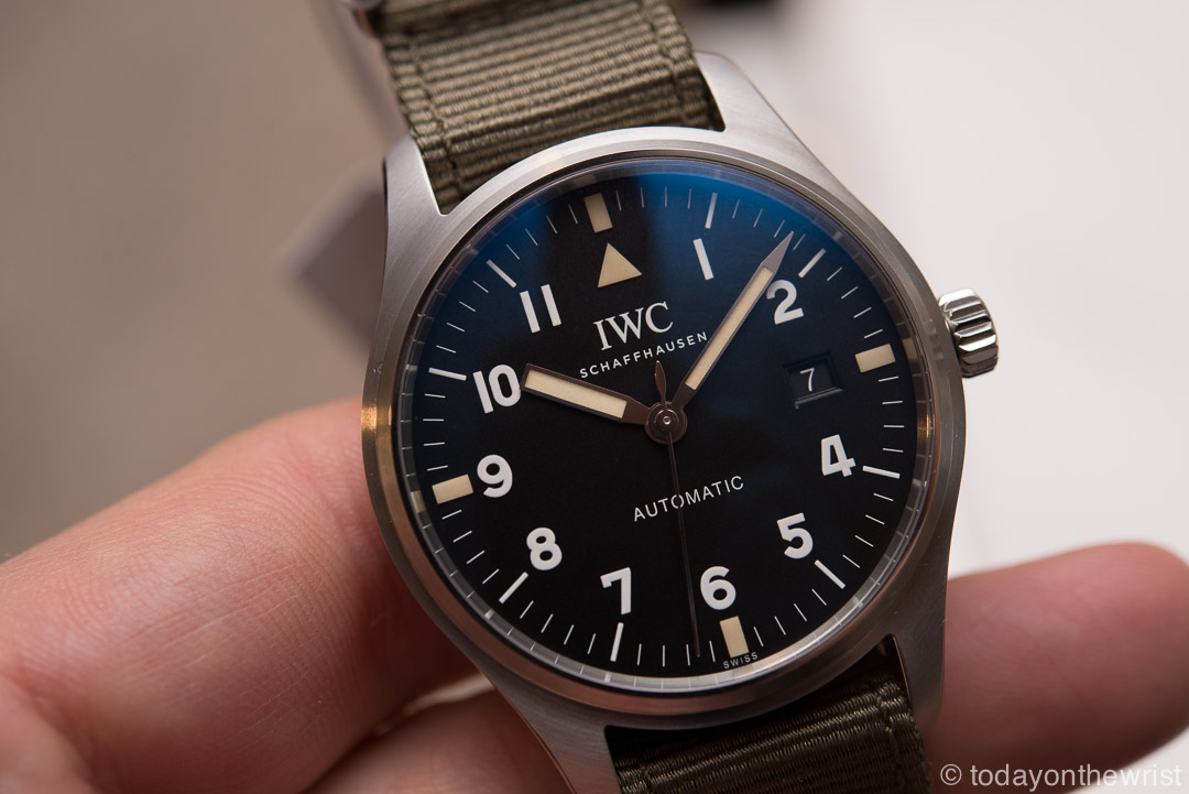 "IWC Pilot's Watch Mark XVIII Edition ""Tribute to Mark XI"""