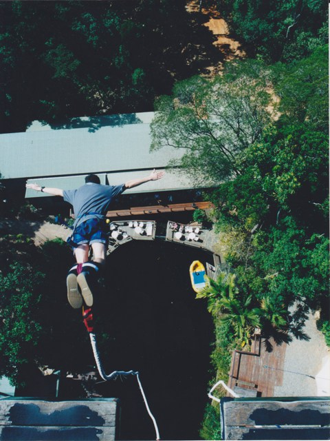 Memorable Moments – Bungee jumping in Cairns