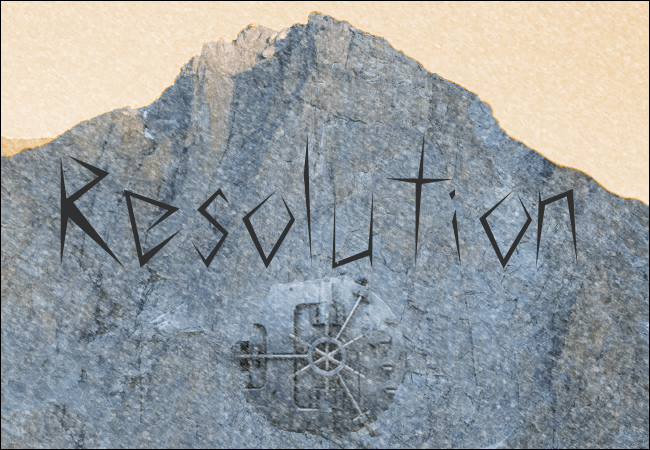 Resolution – a short story
