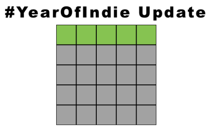 YEAR OF INDIE UPDATE (5 READ, 20 TO GO)