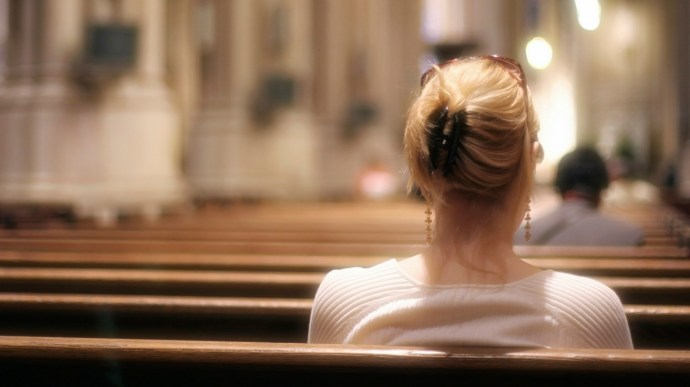 Image result for Christian in church