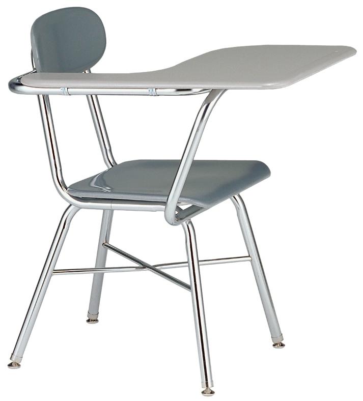 chair connected to desk wedding covers cotton classroom desks student l school combination tablet arm 817 legacy series x brace