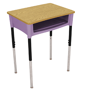 chair connected to desk modern wood plans classroom desks student l school combination buying guide
