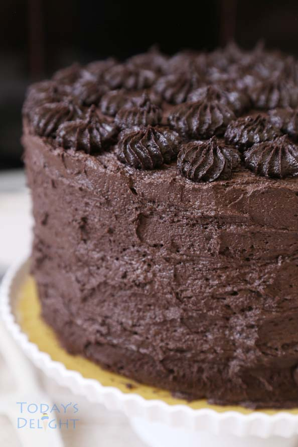 Easy Moist Chocolate Cake Recipe Not Too Sweet Today S