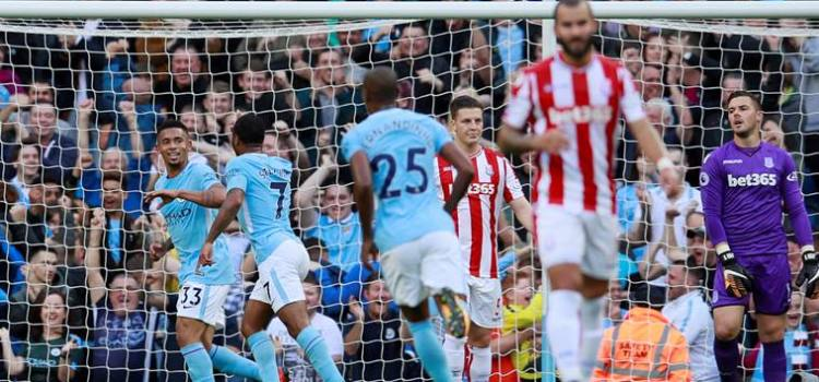 Man City inch closer to invincibility after emphatic win over Stokes