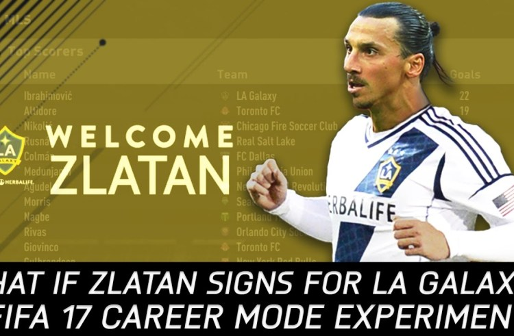 Ibrahimovic arrives LA Galaxy in grand style