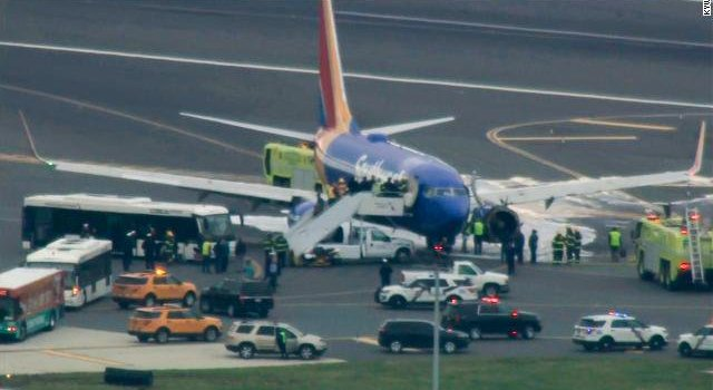 Southwest flight makes emergency landing in Philadelphia