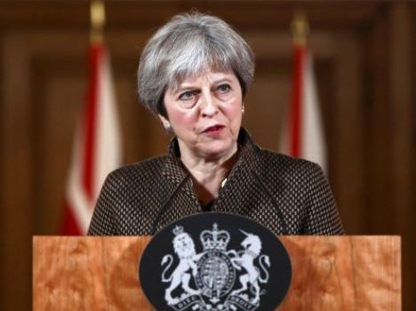 Theresa May advocates for same-sex marriage in Nigeria
