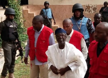Former Plateau State Governor, Jonah Jang remanded in Jos prison