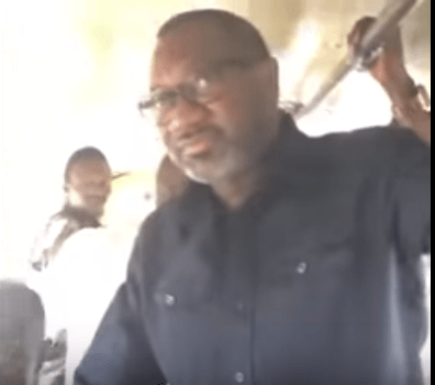 Billionare, Femi Otedola boards a 'Molue' from Sango to Agege(video)