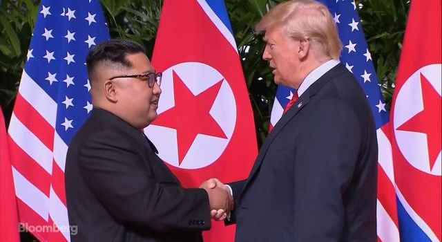 North Korean leader commits to the denuclearization of the Korean Peninsula