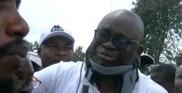 Ekiti decides: Police injured me seriously, I can't turn my neck, Fayose cries out