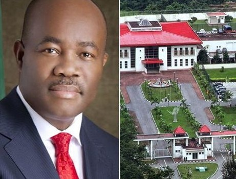 Akpabio prevents journalists from accessing his home