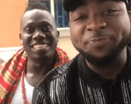 Davido in tears as Duncan Mighty bows for him(video)