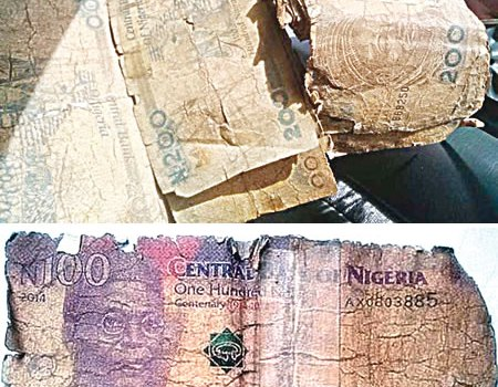 'We are tired of tattered Naira notes'- Nigerians