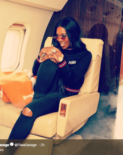 Finally, Tiwa Savage speaks on alleged relationship with Wizkid