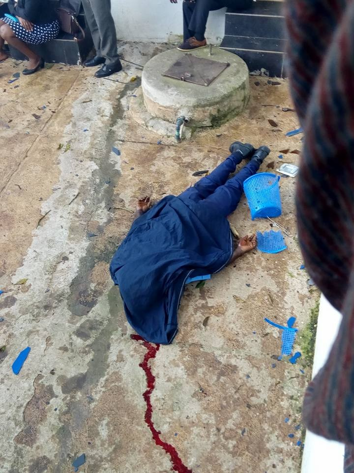 Two killed as armed robbers attack Union Bank in Igede, Ekiti (Graphic Photos)
