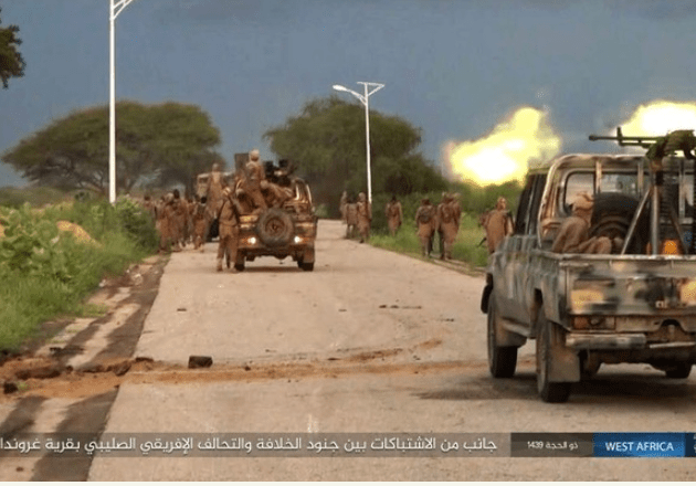 Boko Haram shares pictures of their attack on Gudumbali in Borno