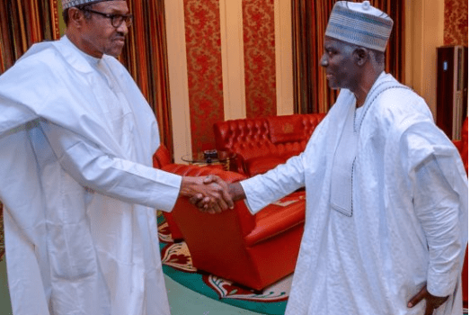 Buhari meets new DSS DG